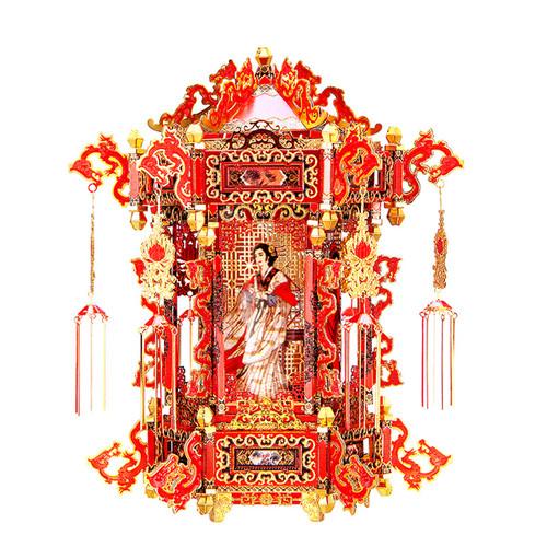 Palace Lantern Metal Model Kit | Piececool