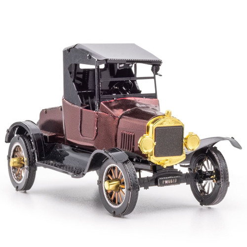 1925 Ford Model T Runabout Metal Earth Model