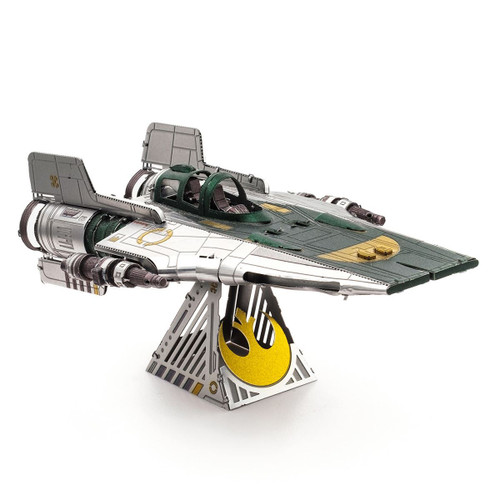 Resistance A-Wing Fighter - Star Wars - Metal Earth Model