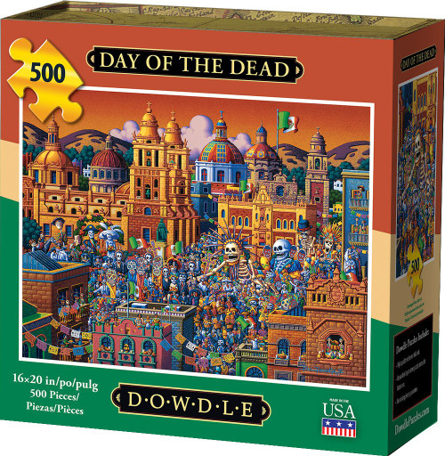 Day of the Dead 500 Piece Jigsaw Puzzle | Dowdle