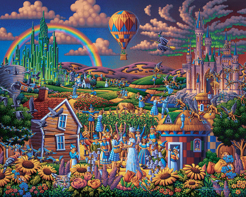 Wizard of Oz 300 Piece Jigsaw Puzzle | Dowdle