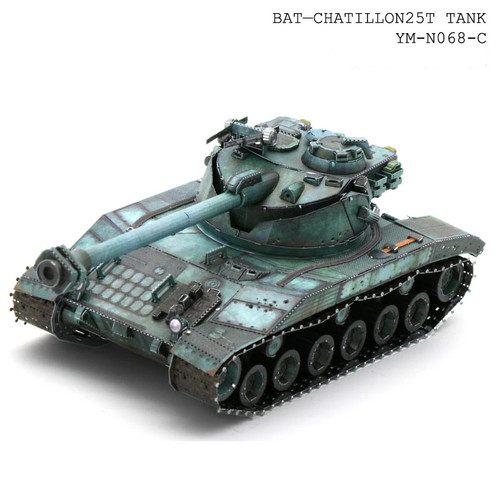 Bat-Chatillon 25T Tank Metal Model Kit   MU Models