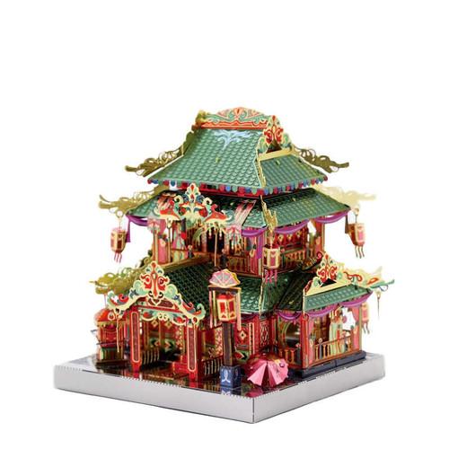 China Town Yi-hong Courtyard Metal Model Kit [Includes LEDs & Battery] | MU Model