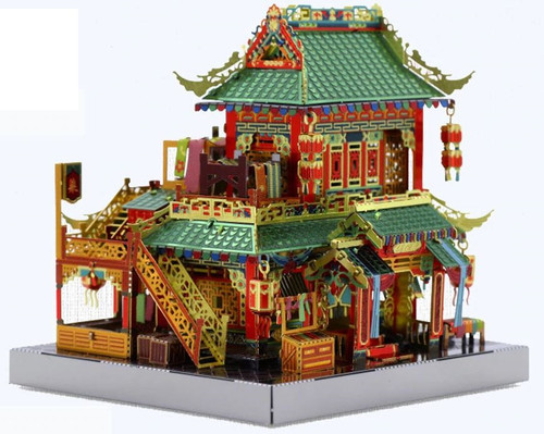 China Town Mercery Store Metal Model Kit [Includes LEDs & Battery] | MU Model