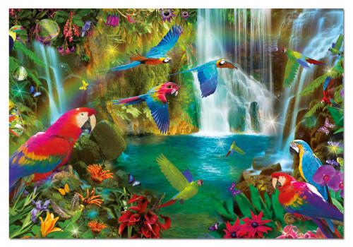Tropical Parrots 1000 Piece Jigsaw Puzzle | Educa