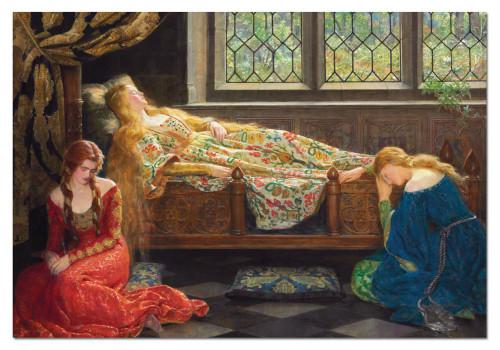 The Sleeping Beauty 1500 Piece Jigsaw Puzzle   Educa