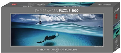 Stingray 1000 Piece Panorama Jigsaw Puzzle | Heye