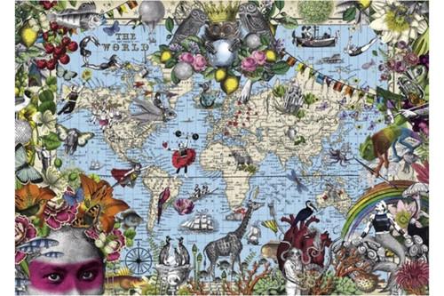 Pabuku Quirky World 2000 Piece Jigsaw Puzzle | Heye