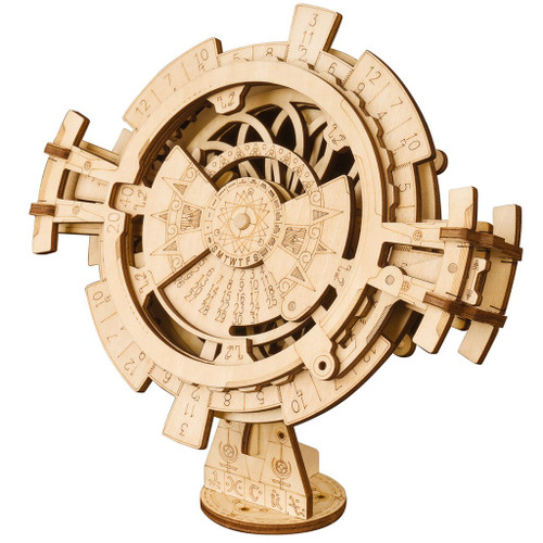 Perpetual Calendar Wooden Model Kit | Rokr
