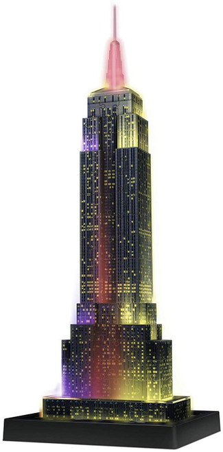 Empire State Building - Night Edition - 216 Piece *3D Jigsaw Puzzle* | Ravensburger