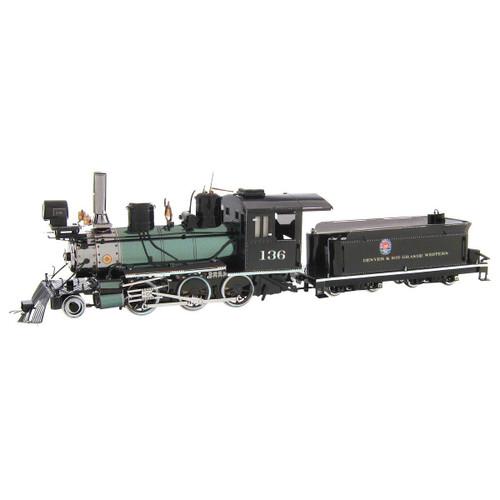 Wild West 2-6-0 Locomotive Metal Earth Model