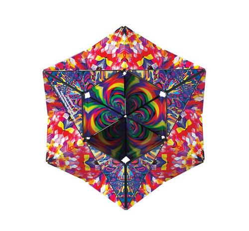 "Geometric Shape Shifting Magnetic Transformation Cube ""Confetti""   Shashibo"