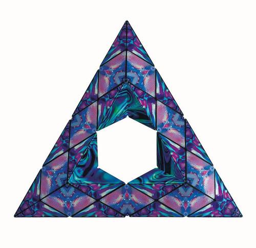 "Geometric Shape Shifting Magnetic Transformation Cube ""Mystic Ocean"" | Shashibo"