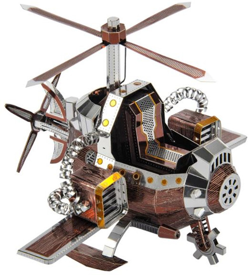 Field Rescue Aircraft Metal Model Kit | Microworld