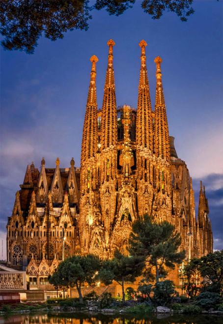 Sagrada Familia 1000 Piece Jigsaw Puzzle | Educa
