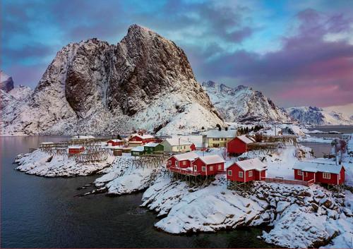 Lofoten Islands, Norway 1500 Piece Jigsaw Puzzle   Educa