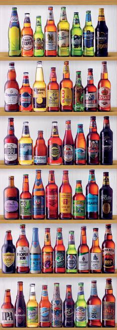 """World Beers"" 2000 Piece *Panorama* Jigsaw Puzzle | Educa"