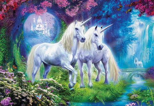 Forest Unicorns 500 Piece Jigsaw Puzzle | Educa
