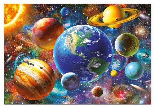 Solar System 500 Piece Jigsaw Puzzle   Educa