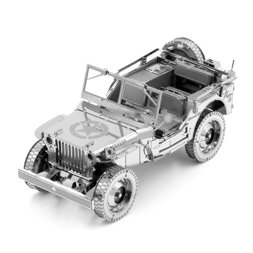 Willy's Overland Vehicle Metal Model Kit | Iconx