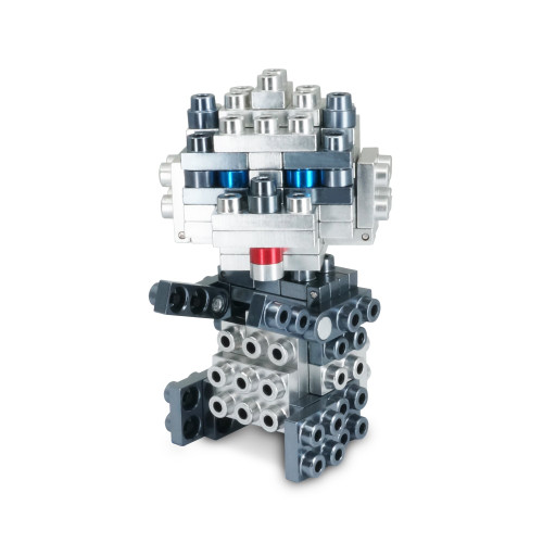 Wild Animal Series - Panda - Metal Designer Building Blocks | 71pcs | Metomics