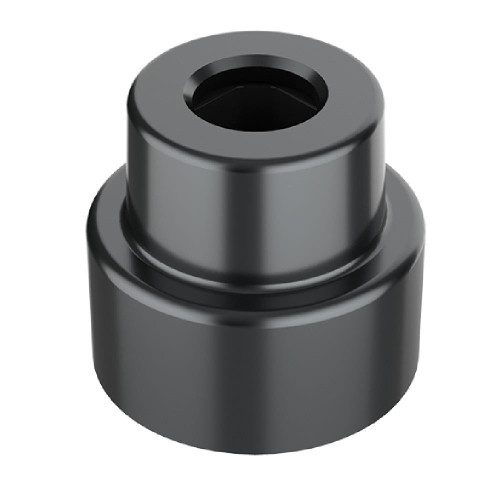 1x1 Round Charcoal Black *Quantity 50* Metal Building Blocks | Metomics