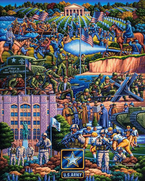 U.S Army 500 Piece Jigsaw Puzzle | Dowdle