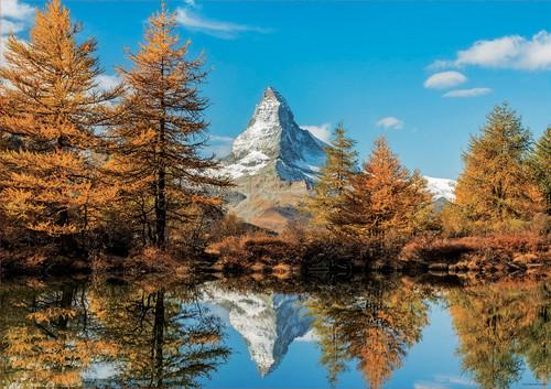 Matterhorn in Autumn 1000 Piece Jigsaw Puzzle | Educa