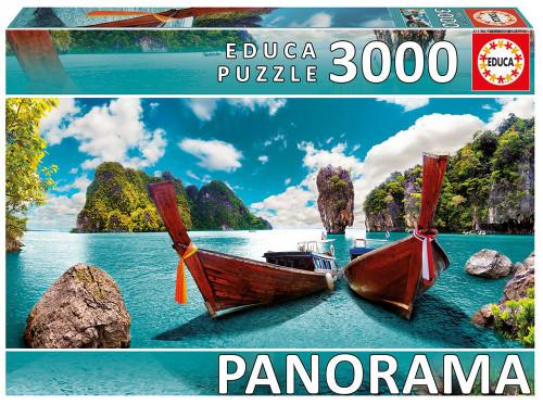 """Phuket, Thailand"" 3000 Piece Panorama* Jigsaw Puzzle   Educa"
