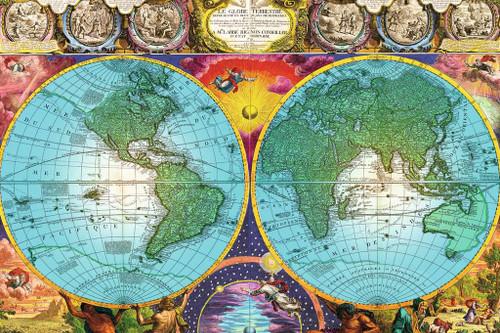 Antique Map, 3000 Piece Jigsaw Puzzle | Ravensburger