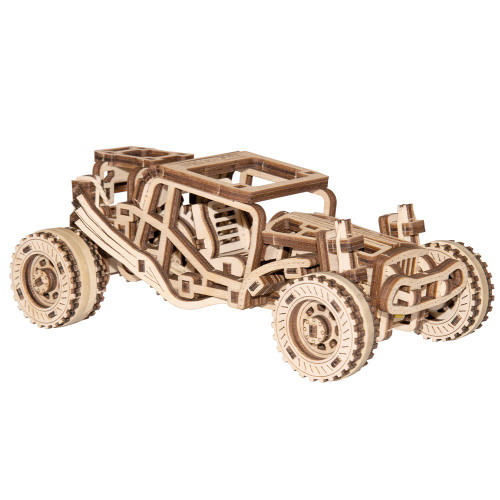Buggy Mechanical Wooden Model Kit | Wooden City