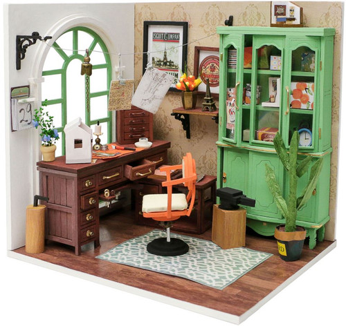 Jimmy's Studio *Build-Your-Own* Dollhouse Kit | Rolife