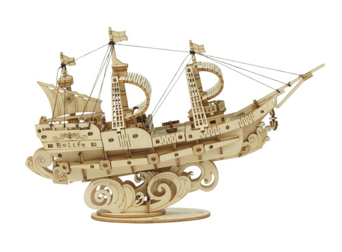 Sailing Ship Wooden Model Kit | Rolife