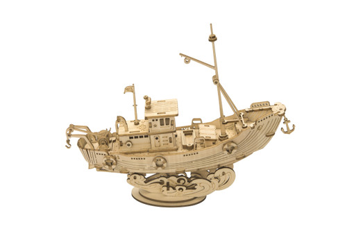 Fishing Ship Wooden Model Kit | Rolife