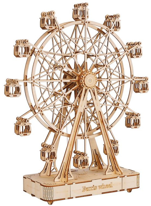 Ferris Wheel *Music Box* Wooden Model Kit | Rolife