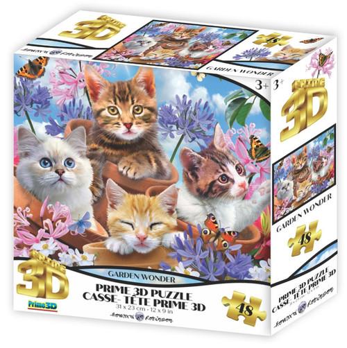 Garden Wonder 48 Piece *Lenticular 3D Effect* Jigsaw Puzzle   Prime3D