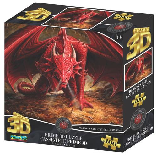 Dragon Lair 100 Piece *Lenticular 3D Effect* Jigsaw Puzzle | Prime3D