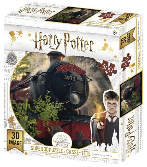 Hogwarts Express, Harry Potter, 500 Piece *Lenticular 3D Effect* Jigsaw Puzzle | Prime3D
