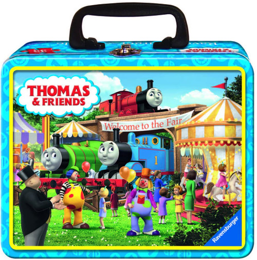 Thomas & Friends Tin Box 35 Piece Jigsaw Puzzle   Ravensburger