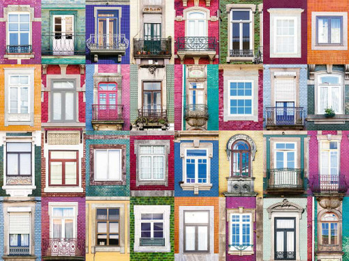 Portuguese Windows, 1500 Piece Jigsaw Puzzle | Ravensburger