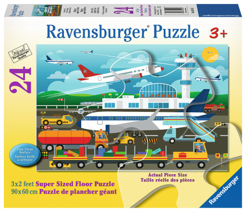 Preparing to Fly 24 Piece 3x2 Feet Floor Puzzle | Ravensburger