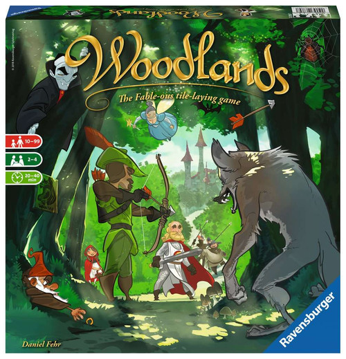 Woodlands: Fable-ous Tile Laying Game | Ravensburger