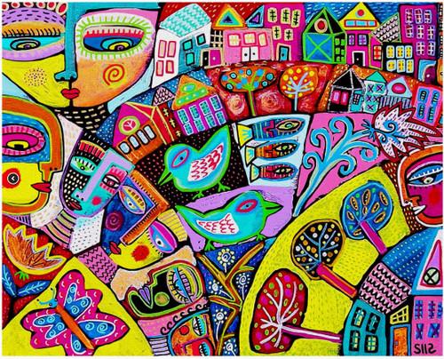 Memory Flower Garden 750 Piece *Random Cut* Jigsaw Puzzle | StandOut