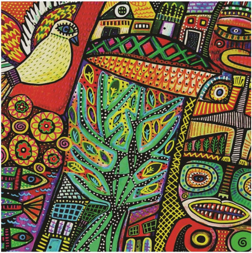 Peace Dove & Sacred Totem Poles 750 Piece *Random Cut* Jigsaw Puzzle | StandOut