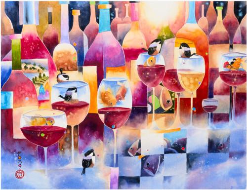 Vino Rosso 750 Piece *Random Cut* Jigsaw Puzzle | StandOut