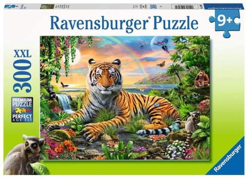 Jungle Tiger 300 XXL Oversized Pieces Jigsaw Puzzle | Ravensburger
