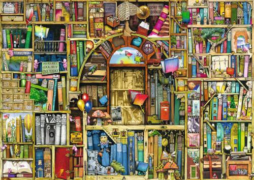 """Bizarre Bookshop 2"" 1000 Piece Jigsaw Puzzle   Ravensburger"