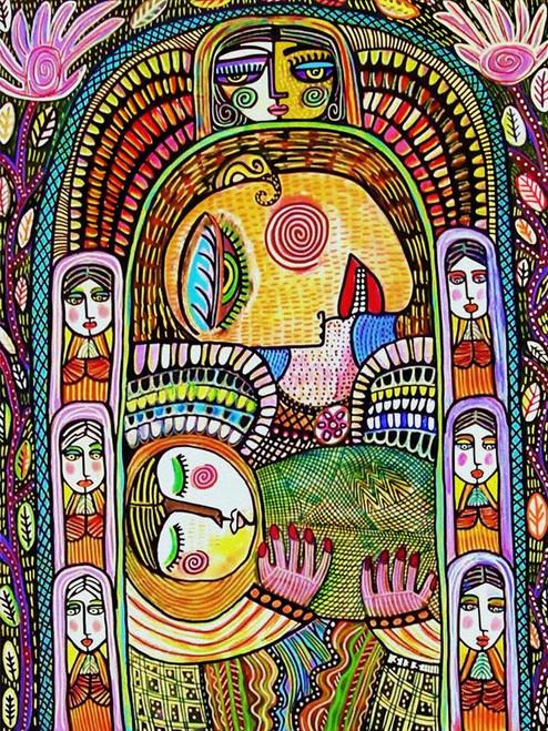 Mother & child Angel Sanctuary 750 Piece *Random Cut* Jigsaw Puzzle   StandOut