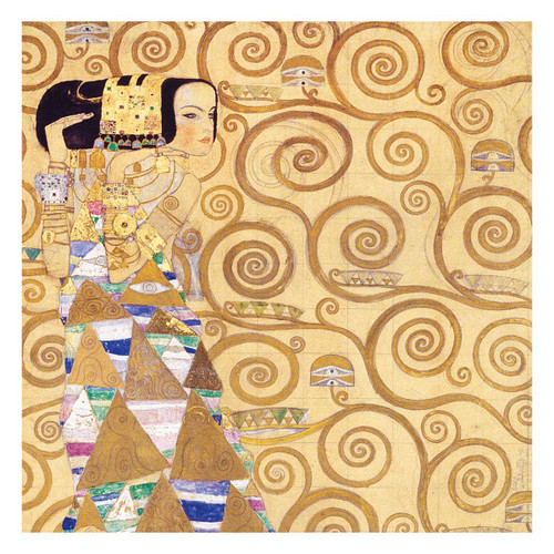 Klimt Expectation 500 Piece Jigsaw Puzzle | Galison