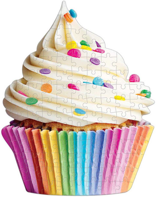 You're Sweet Cupcake 100 Piece Mini *Shaped* Jigsaw Puzzle | Galison